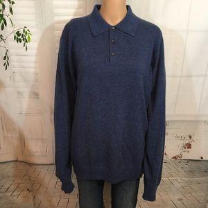 Men's 100% Cashmere Sweater